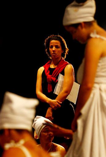 Juliana Monteiro junto a Formação 11